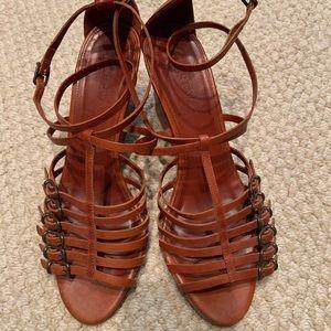 JCREW Gladiator Wedge Sandals